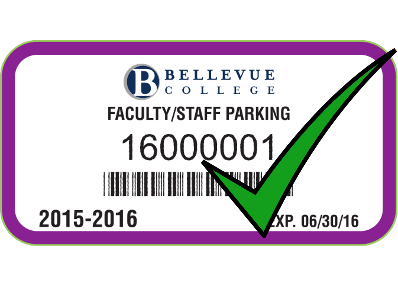 2014-15 Fiscal Year Employee Permit Example